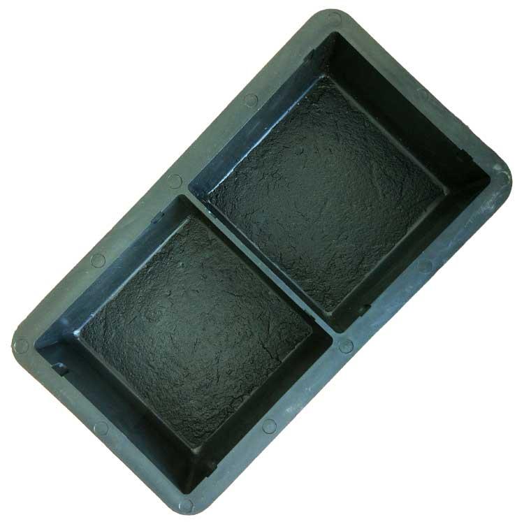 Пластиковая форма для брусчатки Брук европейский квадрат
