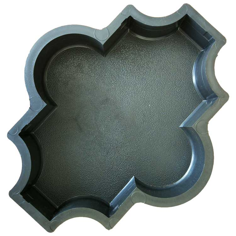 Форма для брусчатки Клевер