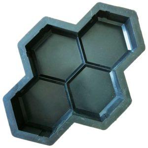 Пластиковая форма для брусчатки Соты