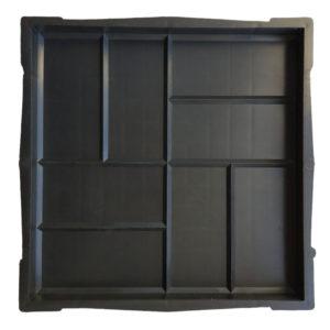 8 кирпичей 300×300  Гладкая