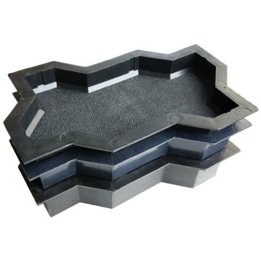 Пластиковая форма для тротуарной плитки Волна