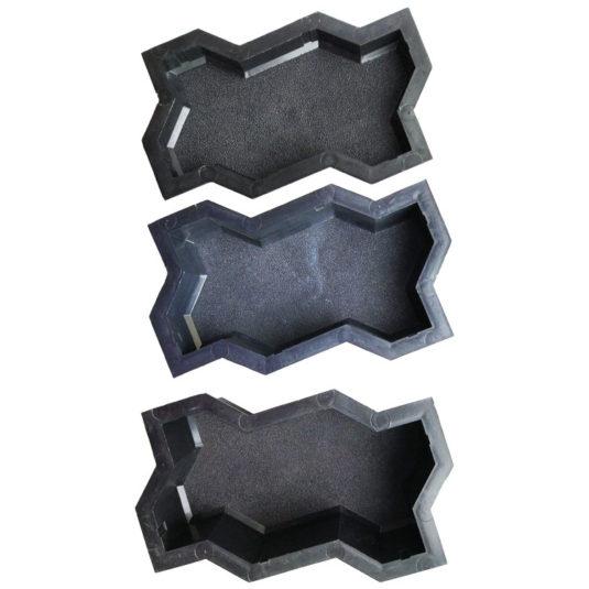Пластиковая форма для брусчатки Волна