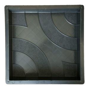 ДИСКО пластиковая форма для тротуарной плитки