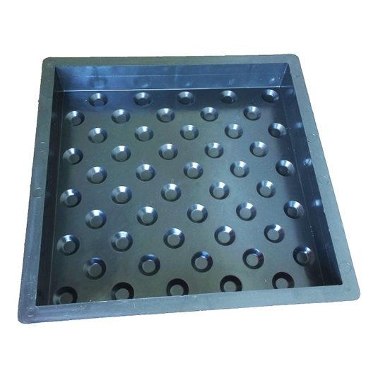 КОНУСООБРАЗНЫЕ РИФЫ форма для тактильной плитки
