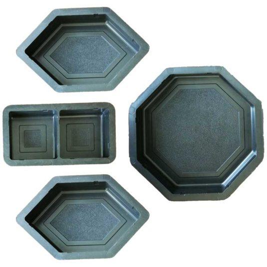 Пластиковая форма для тротуарной плитки Мозаика