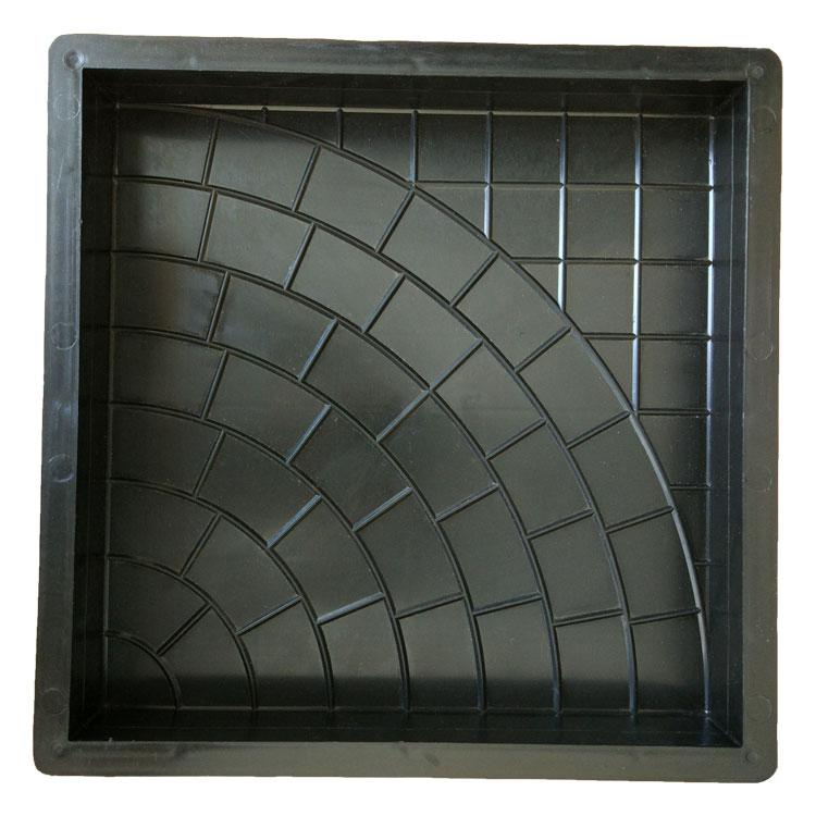 Пластиковая форма для изготовления тротуарной плитки Паутинка