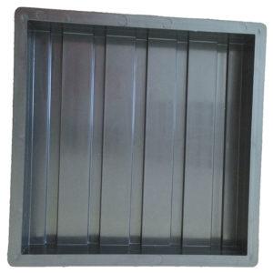 ПРОДОЛЬНЫЕ РИФЫ пластиковая форма для тактильной плитки