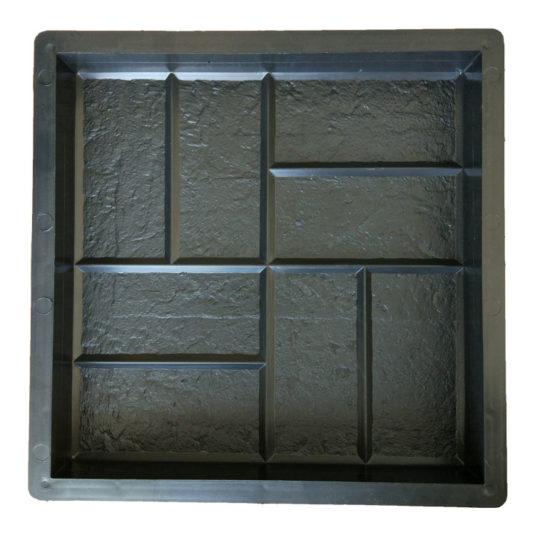 Пластиковая форма для изготовления тротуарной плитки Восемь кирпичей