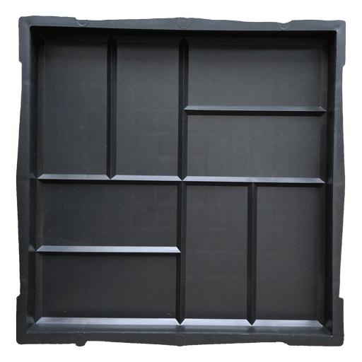 Пластиковая форма для тротуарной плитки 8 кирпичей