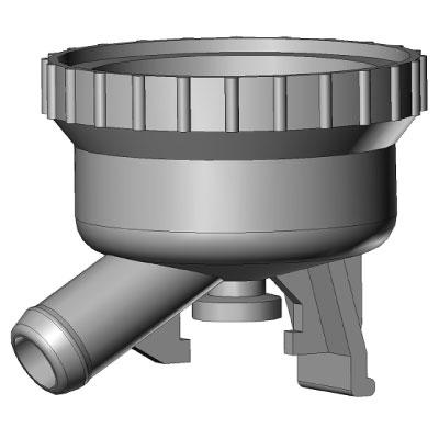 Корпус коллектора пульсоколлектора