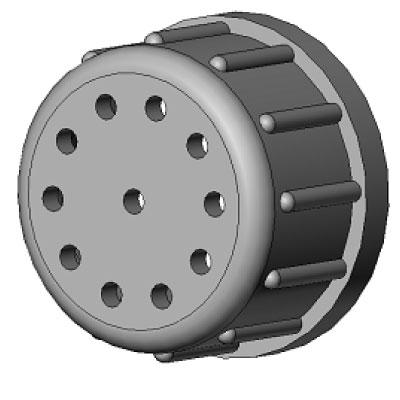 Запчасть для пульсоколлектора Гайка АВЮ8.939.117