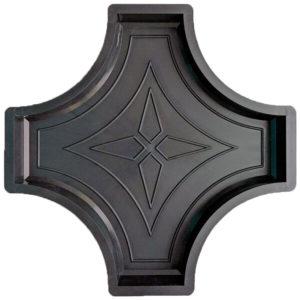 Форма для брусчатки Крест