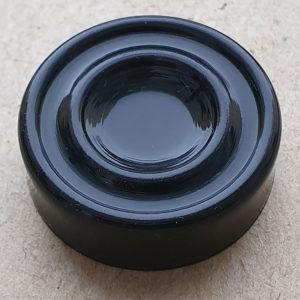 Шашка игральная чёрная